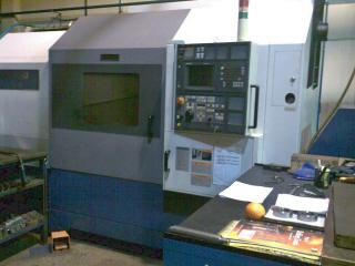 Torno CNC Mori SEiki SL-400 de capacidad 560*800 mm