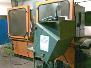 Fresadora Alcera con mesa giratoria de 360º y cabezal orientable frontal de capacidad 1200*800*700 mm
