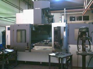 Centro vertical Mori Seiki SV 500 B paletizado de capacidad 100*500*500 mm